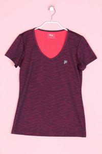 FILA - sport t-shirt mit animal-print - M