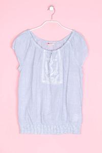 CAMAïEU - kurzarm-bluse mit stickereien - D 40