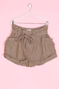 H&M The Garden Collection - shorts aus baumwoll-mix mit leinen - D 40
