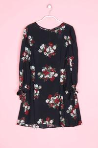 ZARA WOMAN - kleid mit blumen-print - M