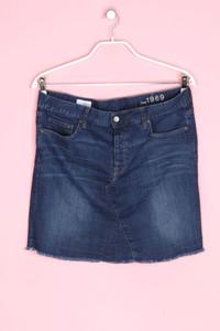 GAP - jeans-rock mit aufgesetzten taschen - XL
