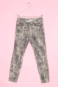ZARA - jeans mit animal-print - D 38