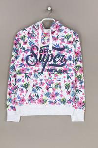 Superdry. - kapuzen-pullover mit tropical print - D 38