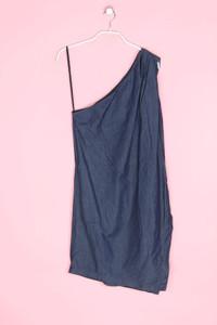 MANGO JEANS - one shoulder-kleid mit falten - M