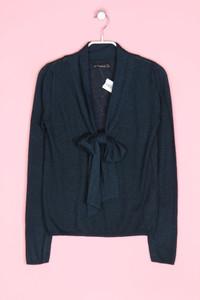 Zara Knit - strick-pullover mit wolle mit schleife - S