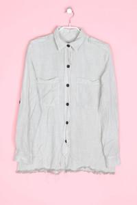 Zara - hemd-bluse mit schulter-riegeln - M