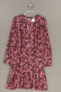 ZARA - kleid mit rüschen - L