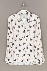 ZARA - hemd-bluse mit print - S