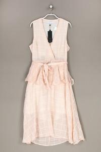 Lost Ink - kleid aus baumwolle mit gürtel - D 42