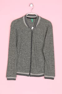 UNITED COLORS OF BENETTON - strick-jacke mit metallic-effekt - M
