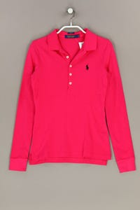 POLO GOLF RALPH LAUREN - langarm-polo-shirt mit logo-stickerei - S