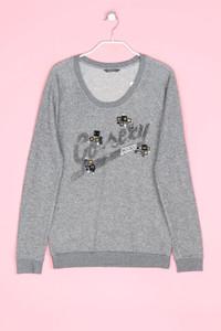 GUESS - sweatshirt mit metallic-effekt - D 36
