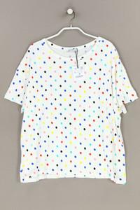 ZARA TRF - baumwoll-shirt mit punkten - L