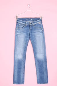 REPLAY - used look straight cut jeans - W27