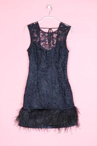LIPSY - kleid mit federn - D 36
