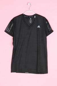 adidas - sport t-shirt mit logo-print - L