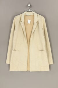ZARA - oversize-blazer-jacke aus kunstleder - XS
