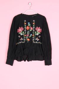 ZARA - bluse mit seide - M