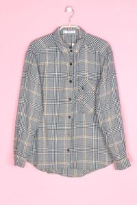 MANGO - bluse mit karo-muster - S