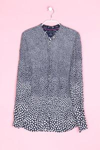 TOMMY HILFIGER - bluse aus viskose mit punkten - L