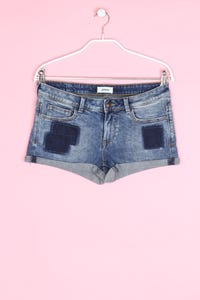 Pimkie - used look shorts-jeans mit stretch - D 34
