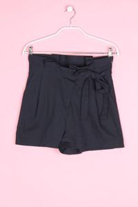 ZARA - high waist-shorts mit gürtel - S