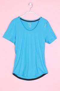 Reebok - sport t-shirt mit logo-print - S