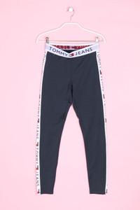 TOMMY JEANS - leggings mit logo-print - M
