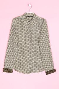 ZARA - bluse mit print - M