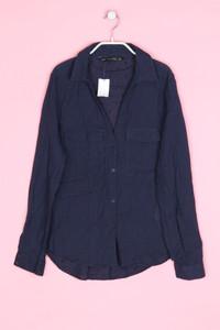 ZARA - bluse mit aufgesetzten taschen - XS