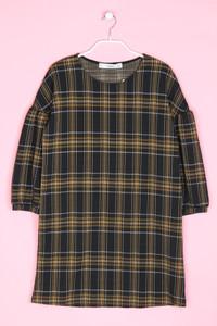 MANGO BASICS - mini-kleid mit karo-muster - XS