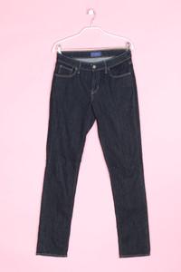 LEVI STRAUSS & CO. - dark denim skinny-jeans mit logo-patch - W29