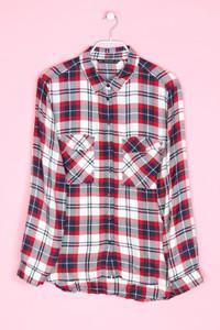 ZARA - hemd-bluse mit karo-muster - XL