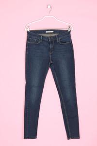 LEVI STRAUSS & CO. - used look skinny-jeans mit logo-patch - W29