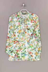 ZARA WOMAN - bluse mit blumen-print - XS