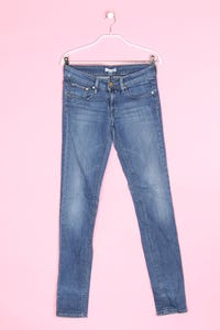 TOMMY HILFIGER - used look-jeans mit logo-badge - W26
