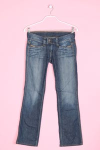 Pepe Jeans London - used look straight cut jeans - W29