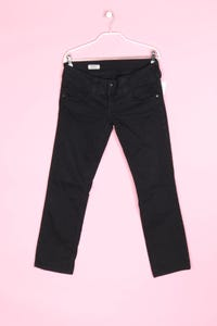Pepe Jeans - straight cut jeans mit logo-patch - M