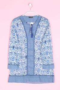 Massimo Dutti - bluse aus baumwolle im ethno-stil - D 36