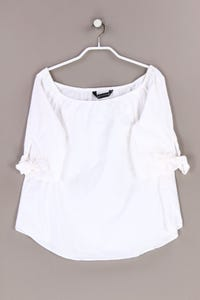 ZARA WOMAN - carmen-bluse mit gummizug - M