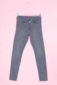 COMPTOIR DES COTONNIERS - used look skinny-jeans mit zipper - D 36-38