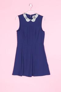 H&M DIVIDED - kleid mit bubi-kragen - D 36