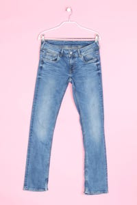 Pepe Jeans - used look straight cut jeans mit stretch - D 36