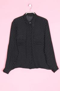 ZARA - hemd-bluse mit pünktchen - S
