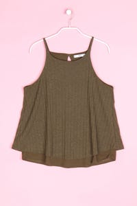 MANGO BASICS - strick-top - M