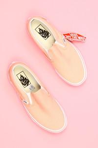 vans - loafer mit logo-badge -