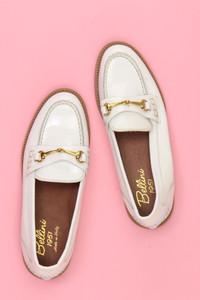 bellini - Vintage-Loafer aus Lackleder - 36