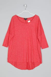 TOPSHOP - Oversize-3/4-Arm-Shirt - M