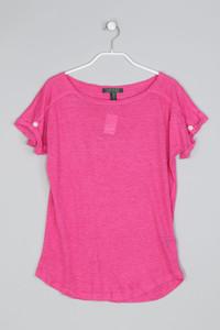 LAUREN RALPH LAUREN - Basic-Shirt aus Leinen - S