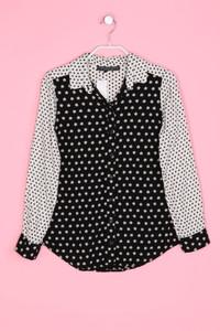 TOPSHOP PETITE - Bluse mit Blumen-Print - XXS